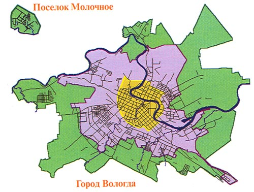 Схема расширения городской