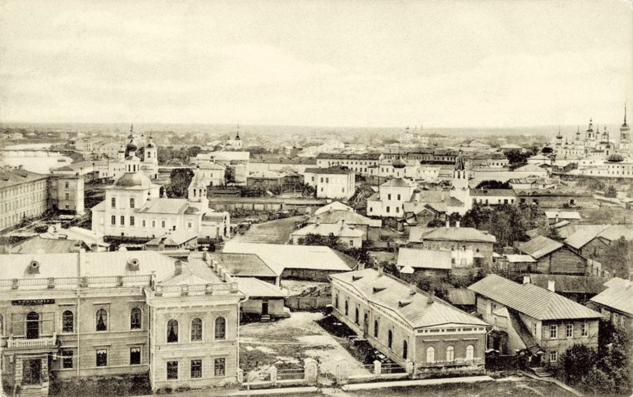Днем, фотографии и открытки старой вологды