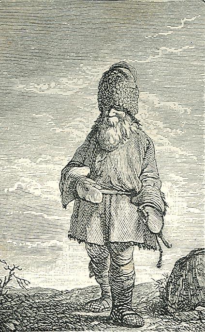 Русский крестьянин в 18 столетии
