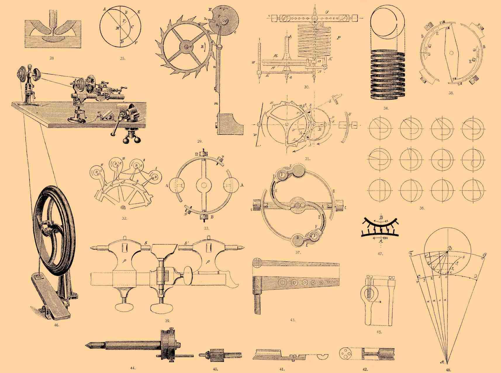 Часовой механизм своими руками чертежи
