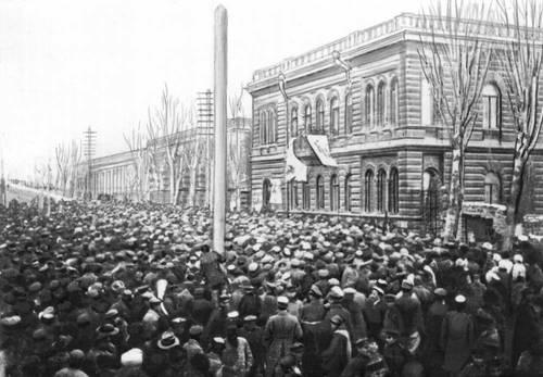 Районы занятые советской властью