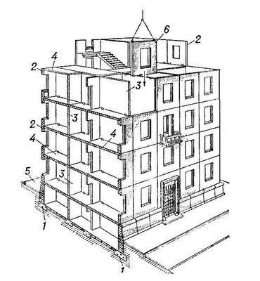 проект схема многоэтажного дома
