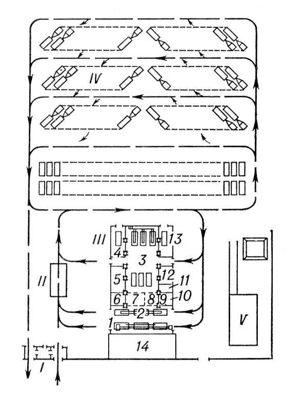 Схема объёмно-планировочного