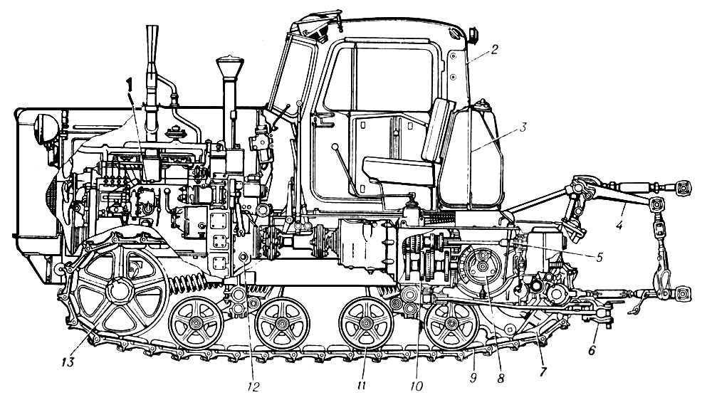 Сборка КПП трактора Т-170, Т-130