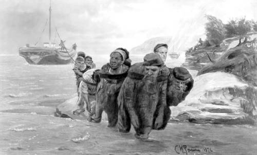 бурлацкая или рыбацкая артель