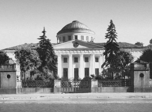 Таврический дворец в блокаду