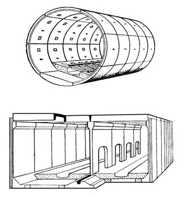 Сборная железобетонная обделка с плита перекрытия профнастил толщина