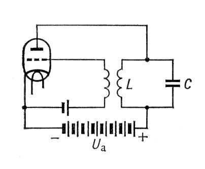 Простейший ламповый генератор