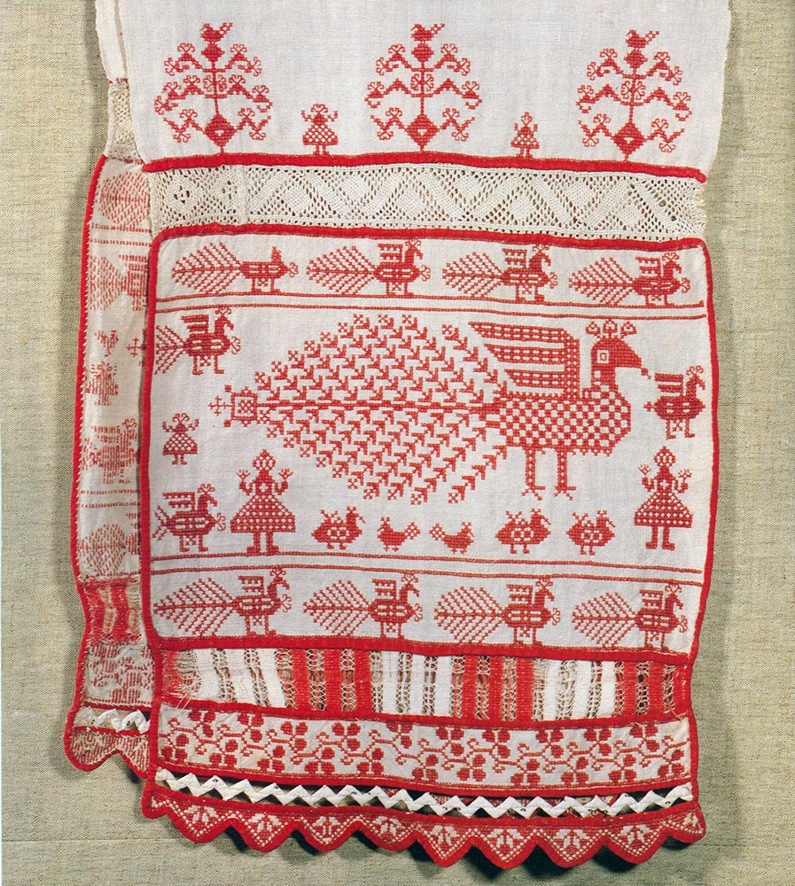 Русская вышивка 13 век 80