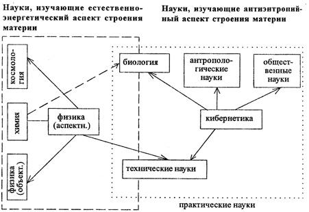 Общая структура научного