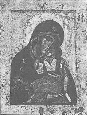 Рис икона богоматери умиление конец