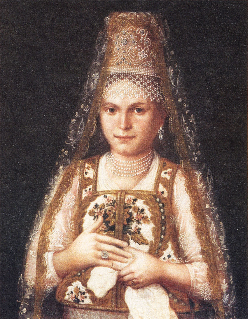 Неизвестный художник портрет молодой