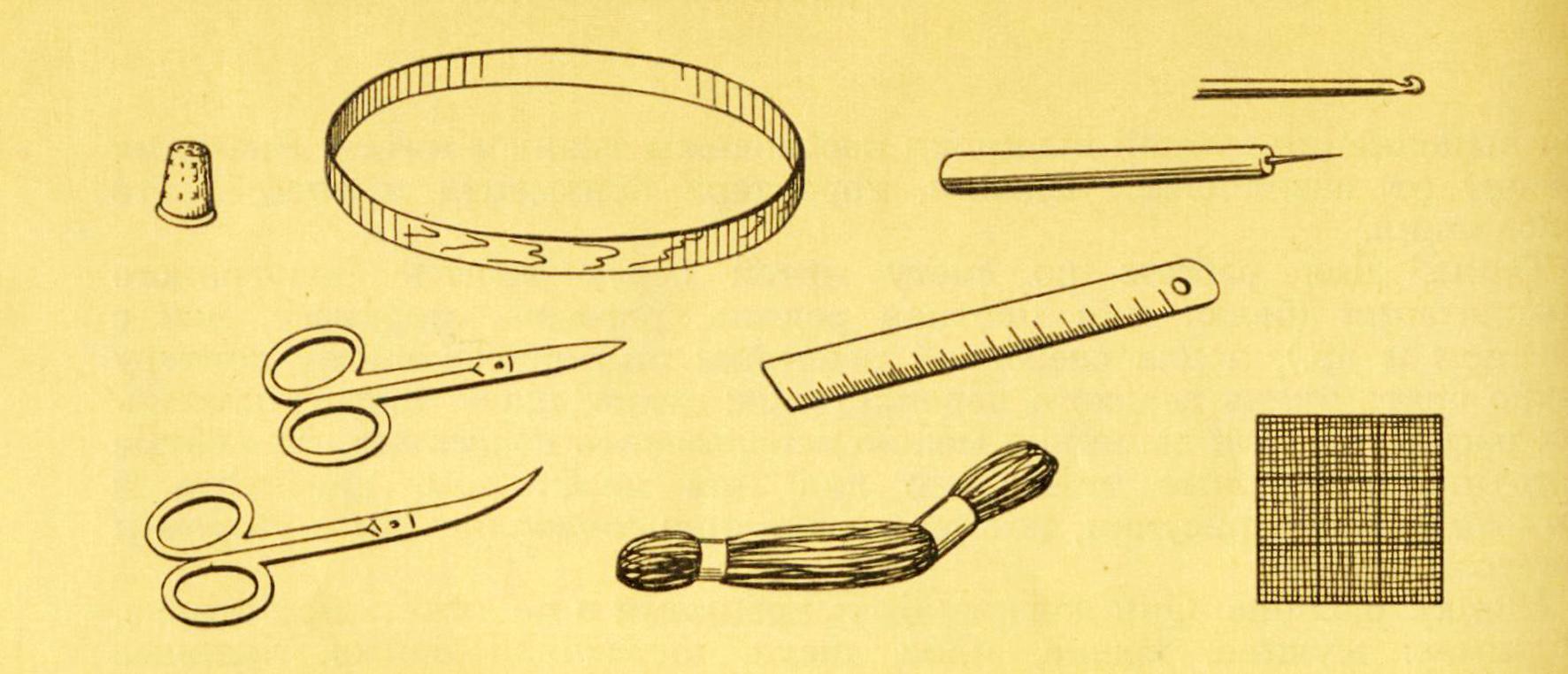 Вышивка инструменты для вышивки
