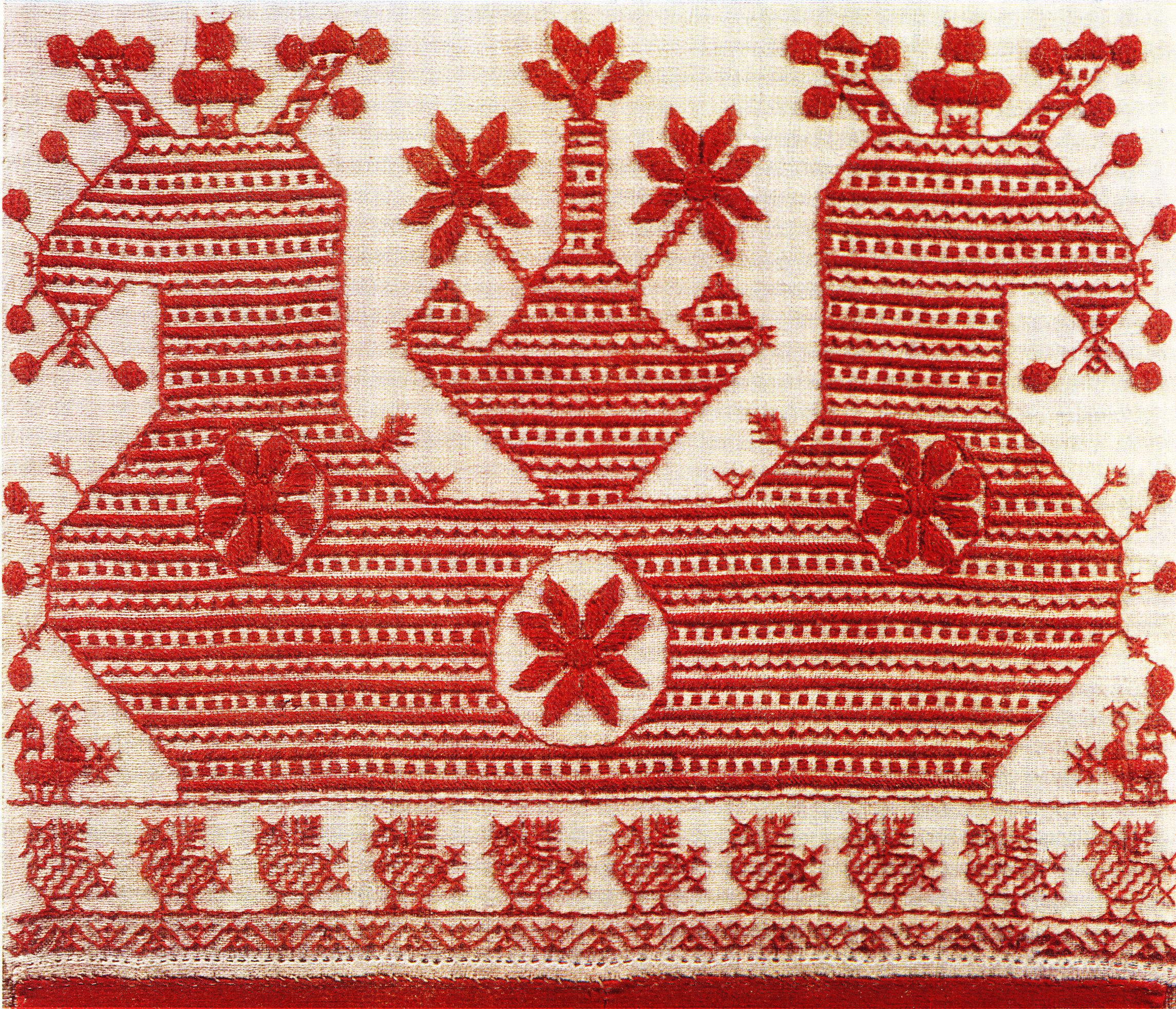 Северная народная вышивки