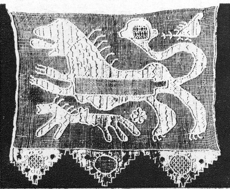Олонецкая вышивка