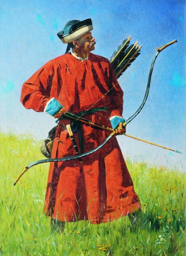 Бухарский солдат (сарбаз).
