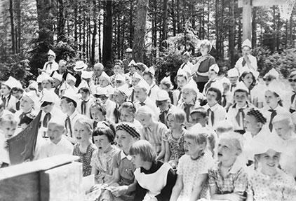 Фотоистория «Пионерские каникулы моей бабушки»
