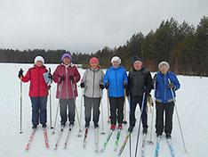 лыжная группа «Эликсир  здоровья»