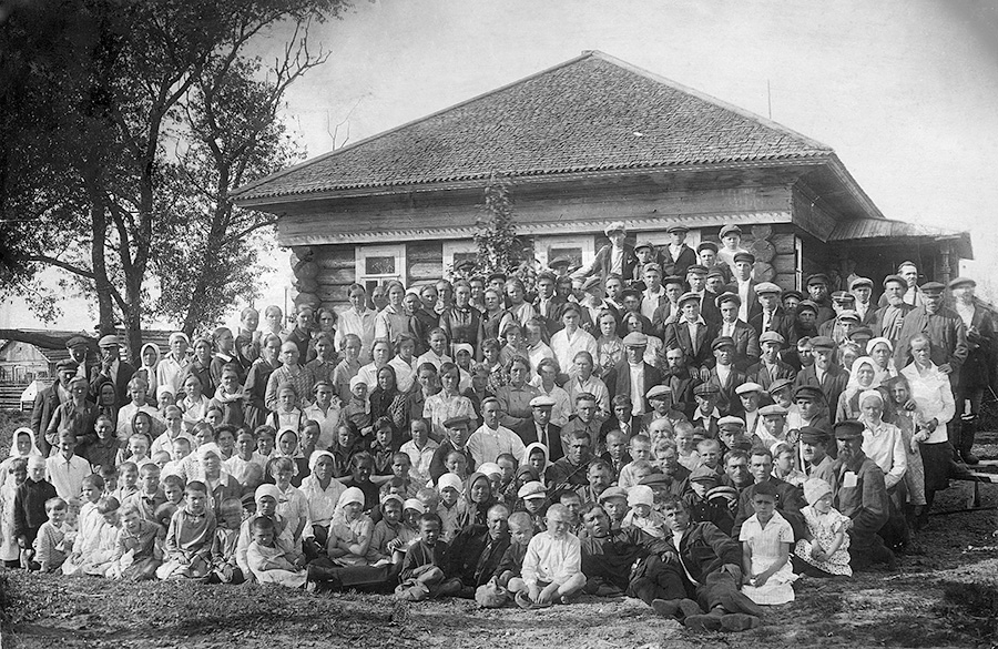 Бубнова О.И. Деревня – большая семья