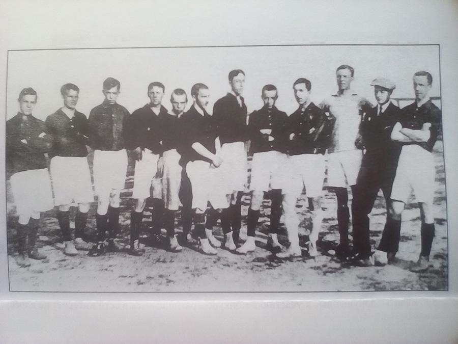 Сиденко Г.Н. Футбол в Торжке. Первая сборная города. 1913 г.