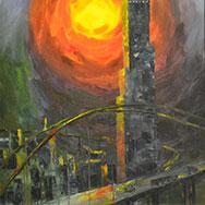 Выставка живописи молодых вологодских художников Семёна Ганичева и Ираиды Васильевой «Другие миры»