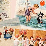 «Мир детства на старой открытке»