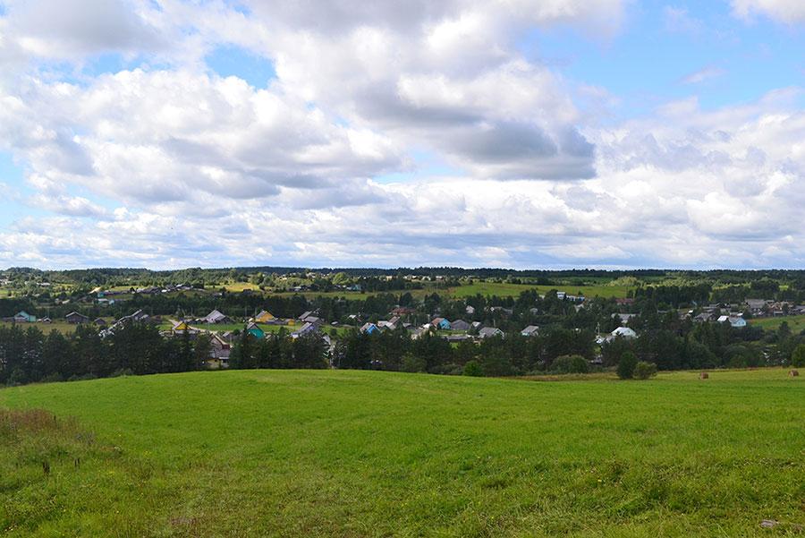 Панорама окрестных деревень