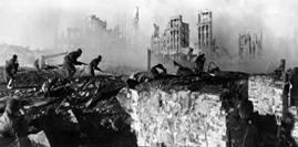 19 ноября 1942 года - Начало  контрнаступления советских войск под Сталинградом День ракетных войск и  артиллерии