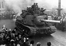 В этот день в 1945 году советские войска освободили Варшаву от  немецко-фашистских войск