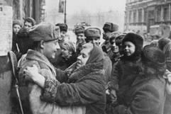 В этот день в  1944 году советские войска освободили от блокады немецко-фашистских войск город  Ленинград