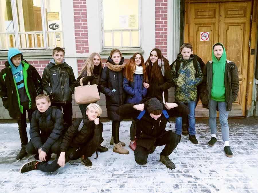 Команда участников игры «Вологодский клад»