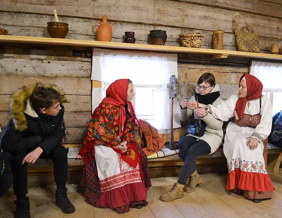 Экскурсия в Семенково