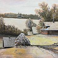 Выставка пейзажей Николая Власова откроется в областной библиотеке