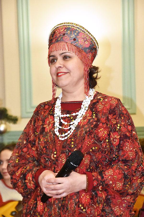 4 февраля Поет Светлана Шадрунова