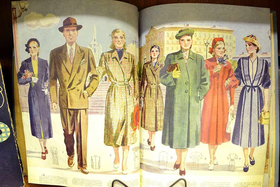 """Мода из библиотечного """"комода"""""""