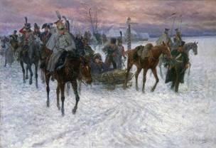 В этот день в 1809 году русские войска завершили героический переход по льду  Ботнического залива в ходе войны со Швецией