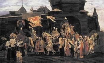 В этот день в 1111 году Владимир Мономах  одержал блестящую победу над половцами в битве при Сальнице
