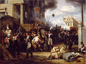 В  этот день в 1814 году русские войска и их союзники вступили в Париж. Европа  была освобождена от владычества Наполеона.