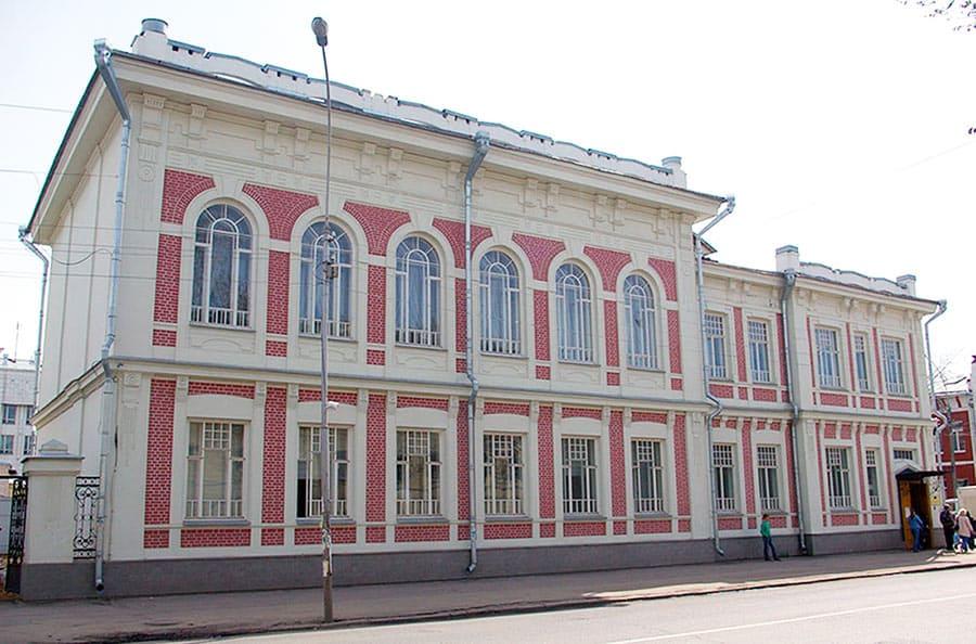 Второе здание ВОУНБ по ул. М. Ульяновой, д. 7