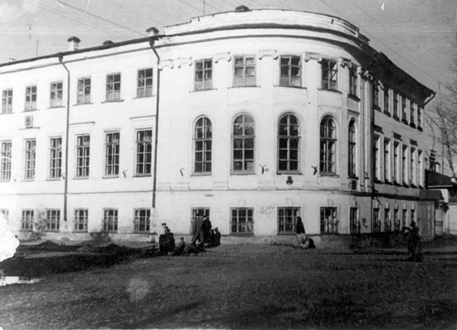 Здание Вологодской Советской Публичной библиотеки (ныне – Вологодской областной филармонии)