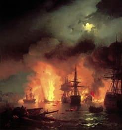 Победа в Чесменском сражении, 1770г.