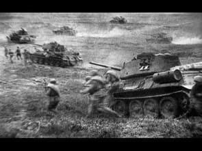 Танковое сражение между советской и германской армиями