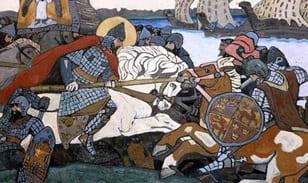 Победа над шведами в Невской битве