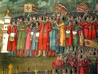 В этот день в 1572 году русские войска  под предводительством князей Михаила Воротынского и Дмитрия Хворостинина  разбили татарское войско