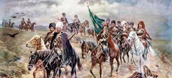 В этот день в 1739 году русские войска  под командованием Бурхарда Миниха разбили турецкую армию под Ставучанами