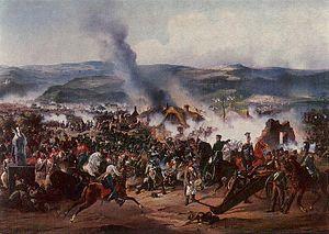 В этот день в 1813 году русская гвардия  отличилась в сражении против французской армии при Кульме