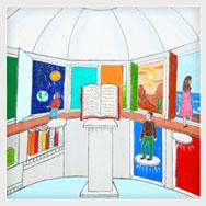 Торжественное подведение итогов Областного конкурса детского рисунка «Библиотека сегодня и через 100 лет»