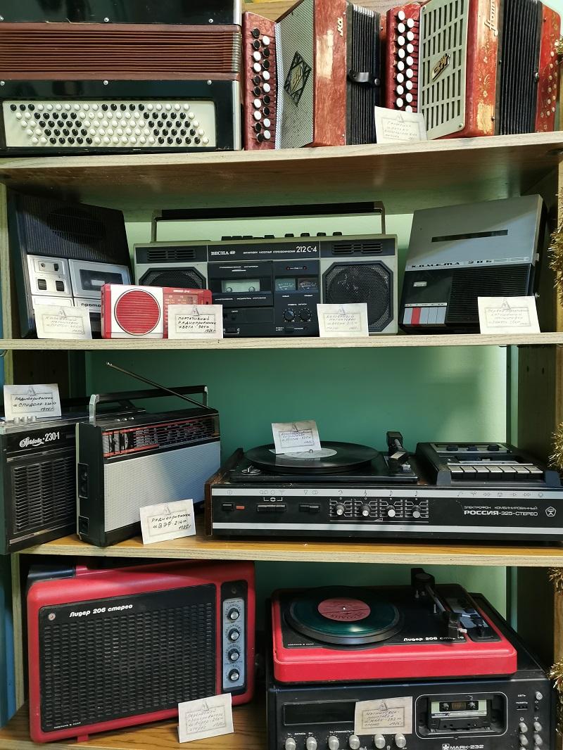 Выставка Музыкальный магазин