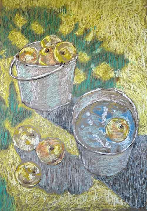 Выставка Олега Малинина. Яблочный спас