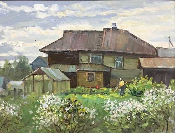 Владимир Баринов. В Чирково вишни цветут